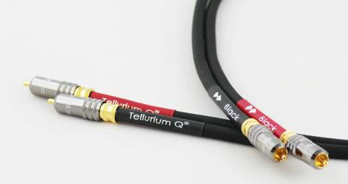 Tellurium Q Black RCA Interconnect @ Audio Therapy