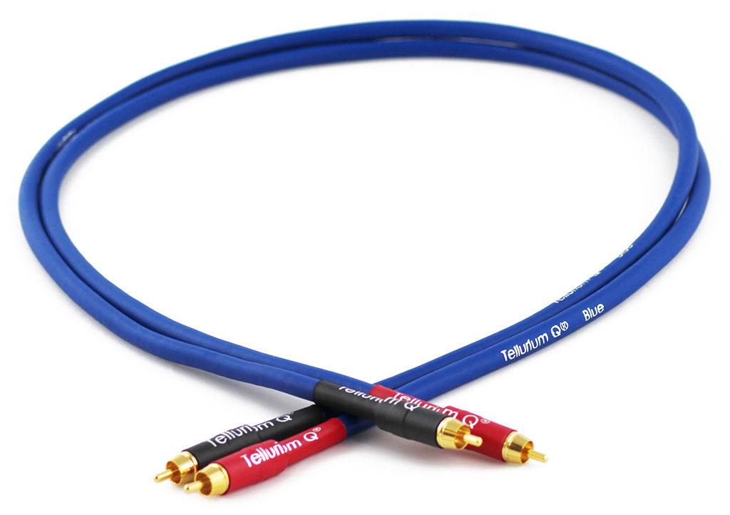 Tellurium Q Blue RCA Interconnect @ Audio Therapy