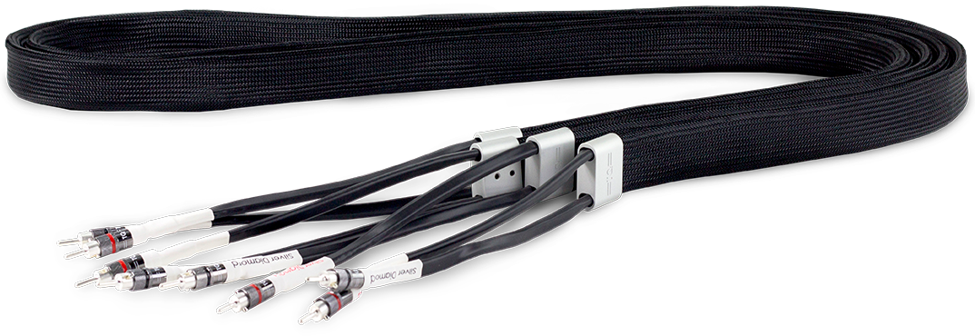 Tellurium Q Silver Diamond Speaker Cable @ Audio Therapy