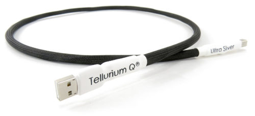 Tellurium Q Ultra Silver USB Cable @ Audio-Therapy