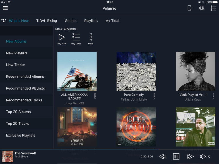 Melco have added Tidal & Qobuz Integration! | | Audio Therapy