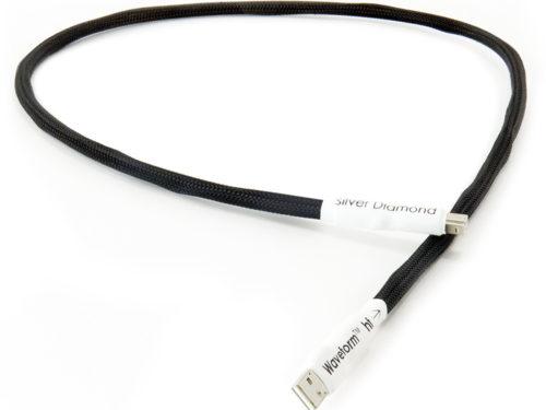 Tellurium Q Silver Diamond USB Cable @ Audio Therapy