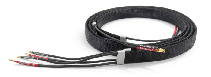 Tellurium Q Ultra Black II Speaker Cable @ Audio Therapy