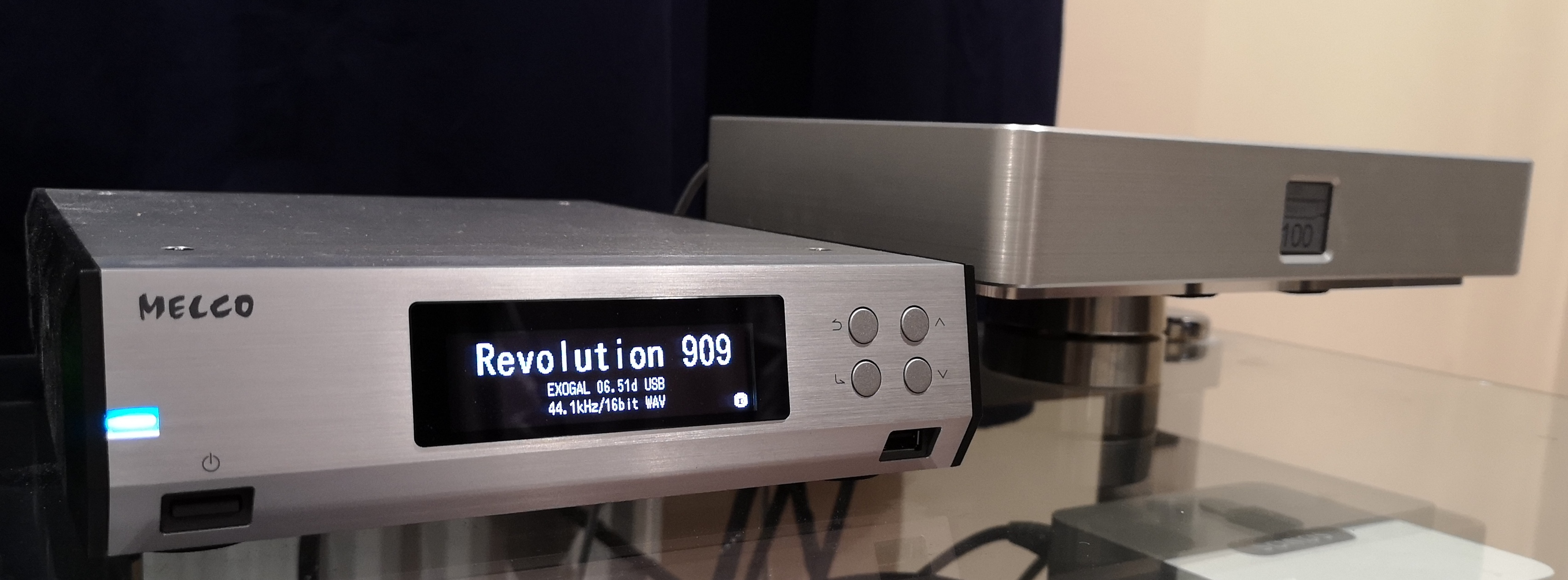 Melco N100 & Exogal Comet Plus @ Audio Therapy