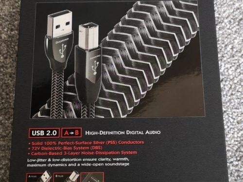 Audioquest Diamond USB Cable @ Audio Therapy