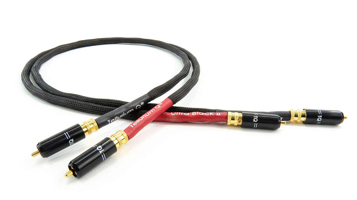 Tellurium Q Ultra Black II RCA Interconnect @ Audio Therapy
