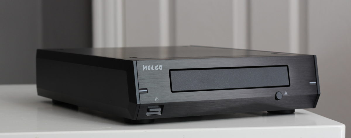 Melco D100 in Black @ Audio Therapy