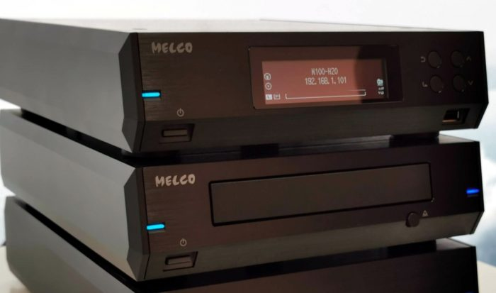 Melco N100 Black @ Audio Therapy