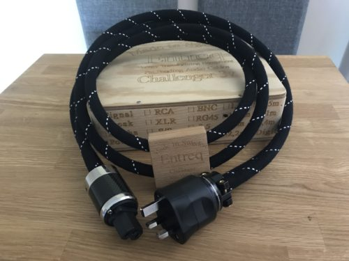 Entreq Challenger 3V Power Cable @ Audio Therapy