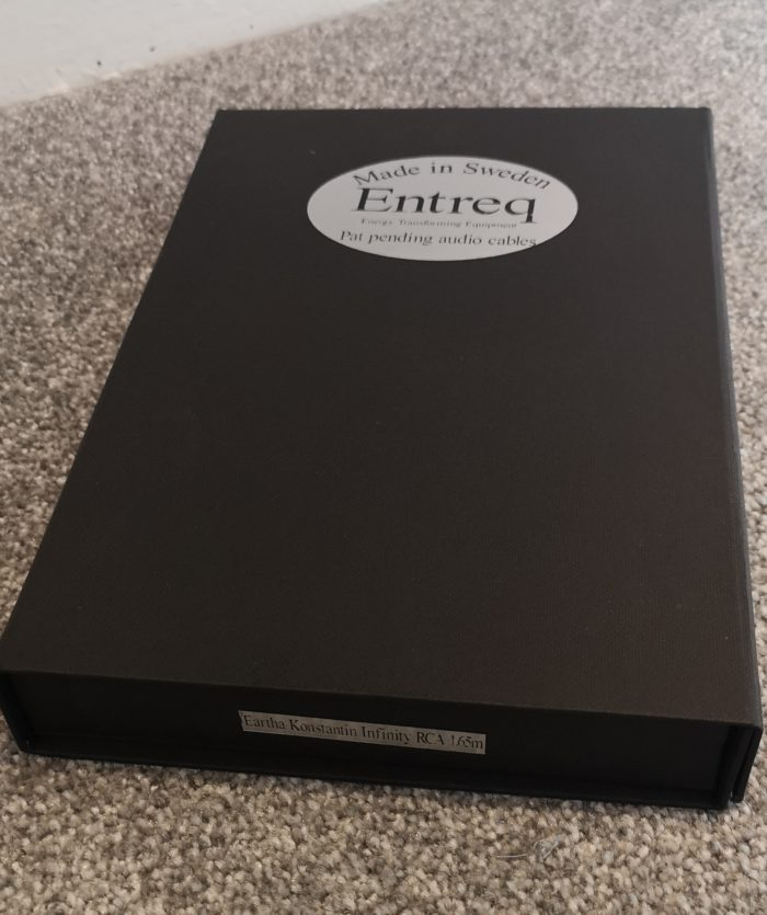 Entreq Konstantin Infinity RCA Ground Cable @ Audio Therapy