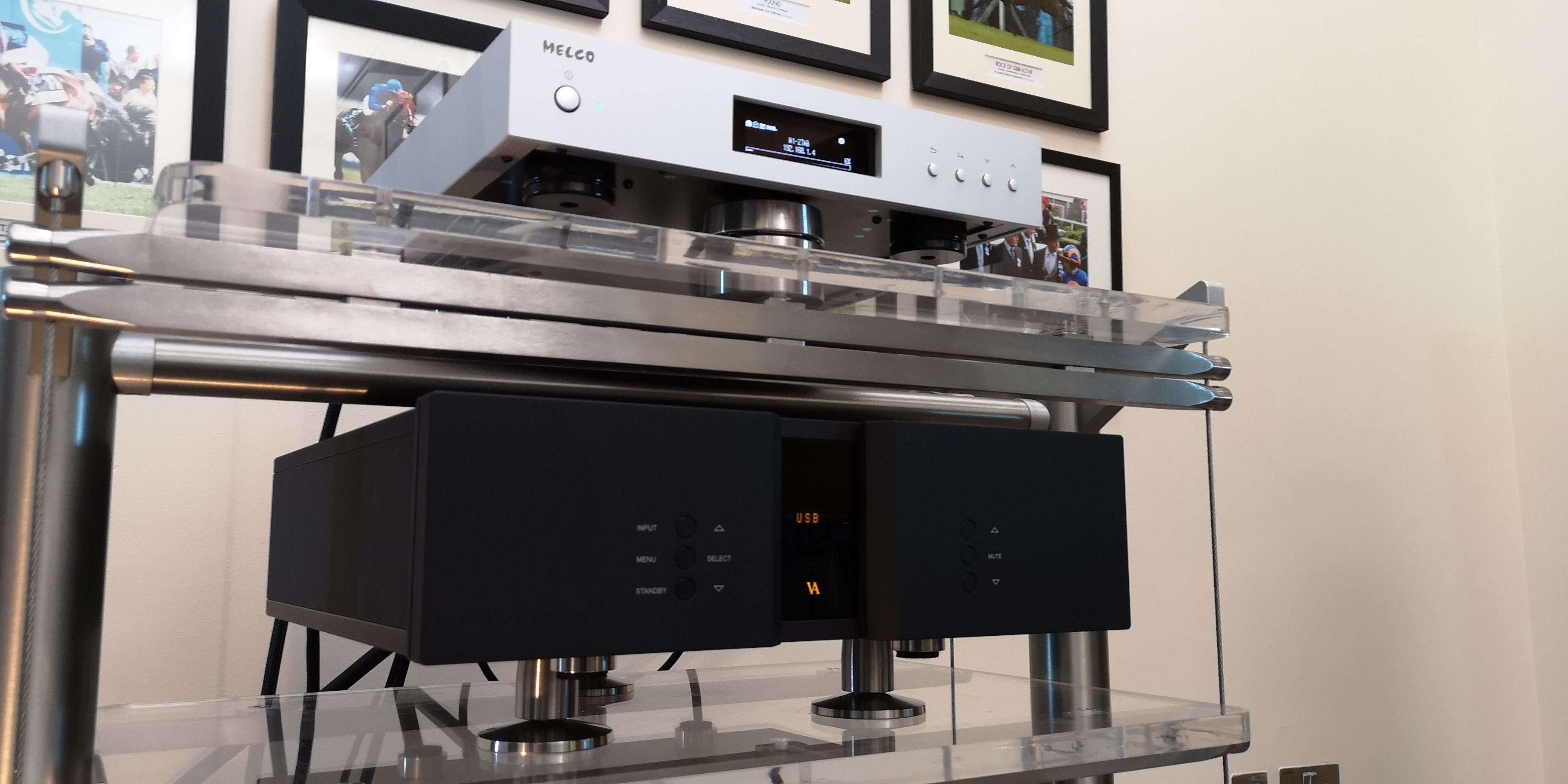 Vitus and Melco @ Audio Therapy