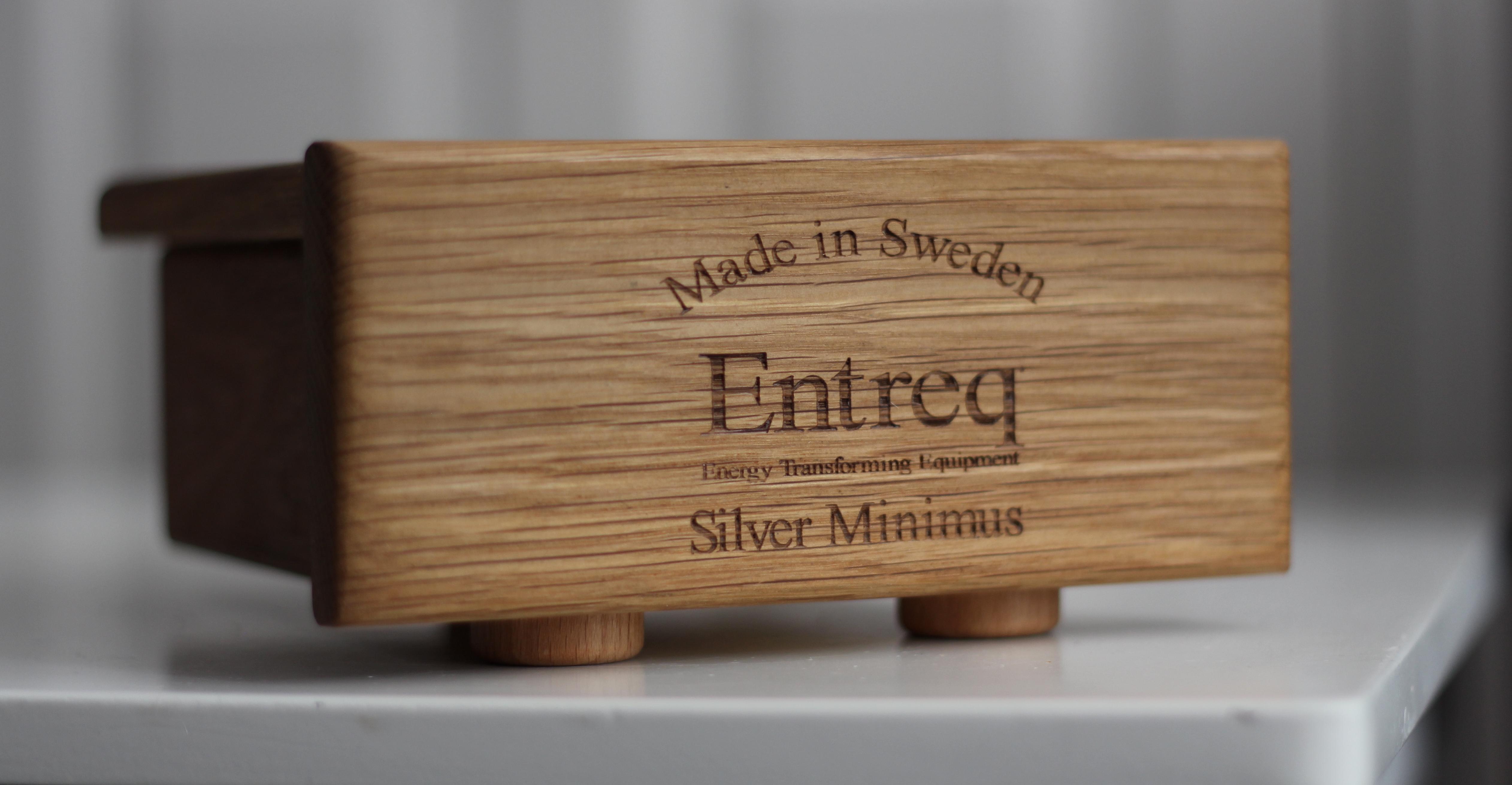 Entreq Silver Minimus @ Audio Therapy