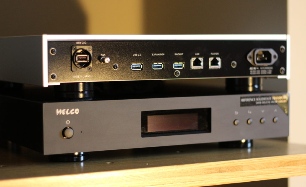 Melco N1ZH & N1ZS @ Audio Therapy