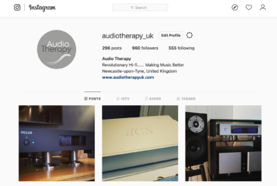 Instagram @ Audio Therapy