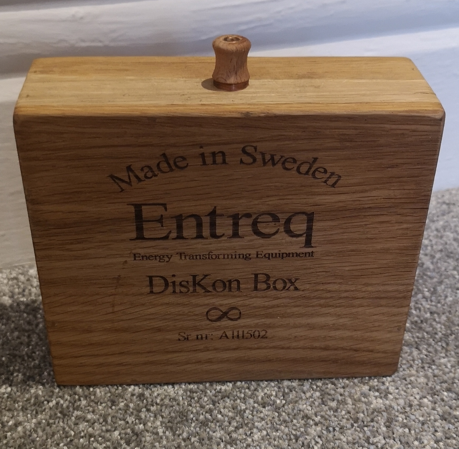 Entreq Diskon Ground Box @ Audio Therapy