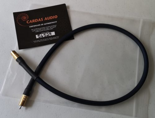 Cardas Clear Digital RCA Interconnect @ Audio Therapy