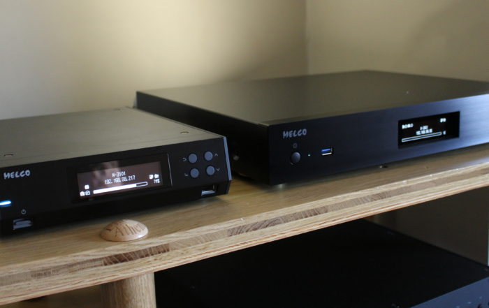 Melco N100 and N1A @ Audio Therapy