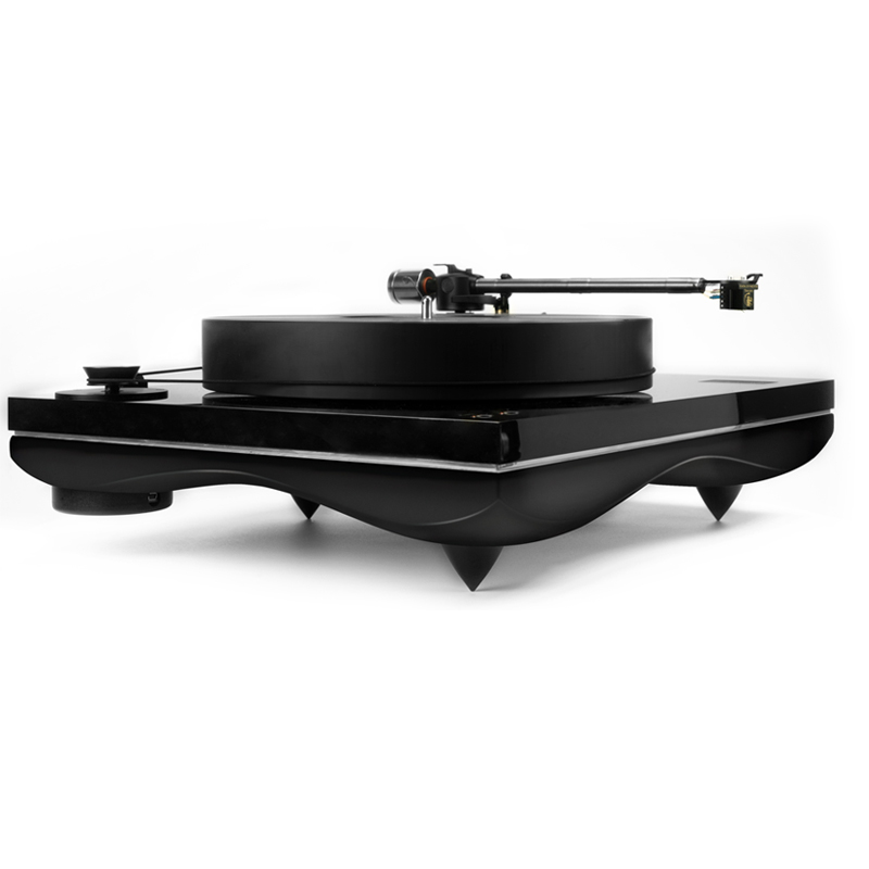 Gold Note Mediterraneo Turntable Black @ Audio Therapy