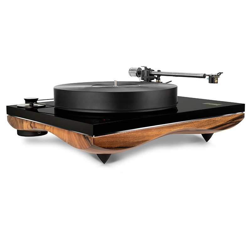 Gold Note Mediterraneo Turntable Walnut @ Audio Therapy