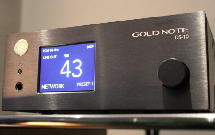 Gold Note DS-10 DAC/Preamp @ Audio Therapy