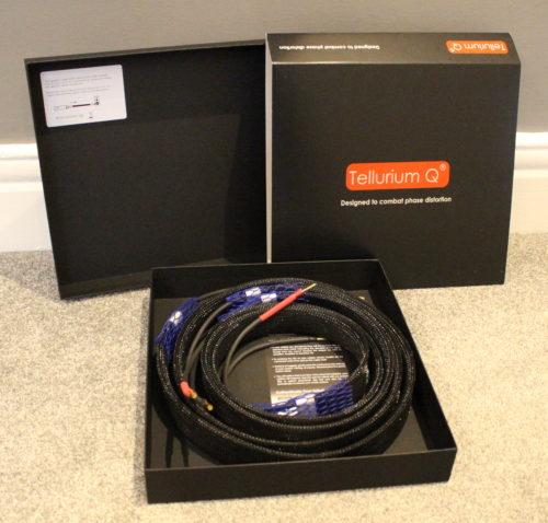 Tellurium Q Ultra Black II Speaker Cable @ Audio Therapy