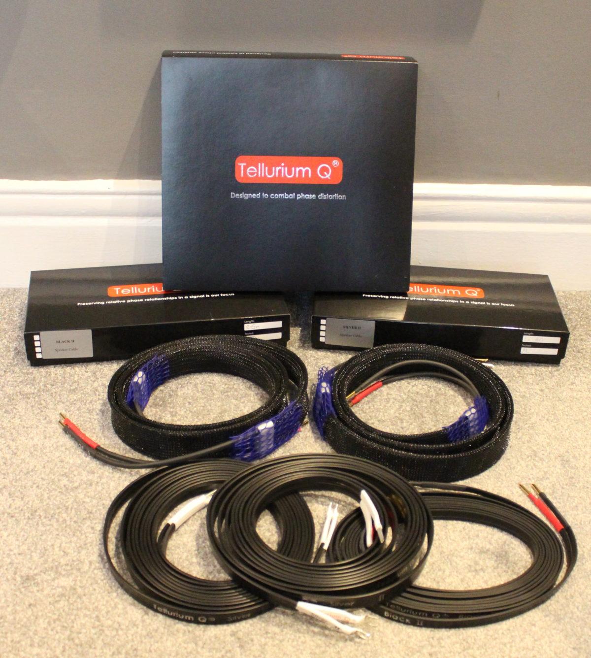 Tellurium Q Silver II Speaker Cable @ Audio Therapy
