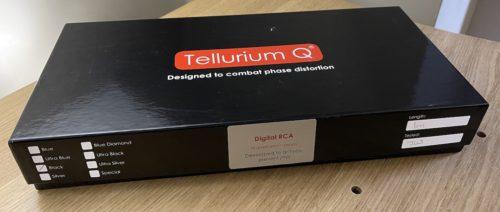 Tellurium Q Black Digital RCA Cable @ Audio Therapy