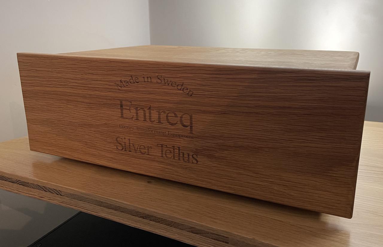 Entreq Silver Tellus Ground Box @ Audio Therapy
