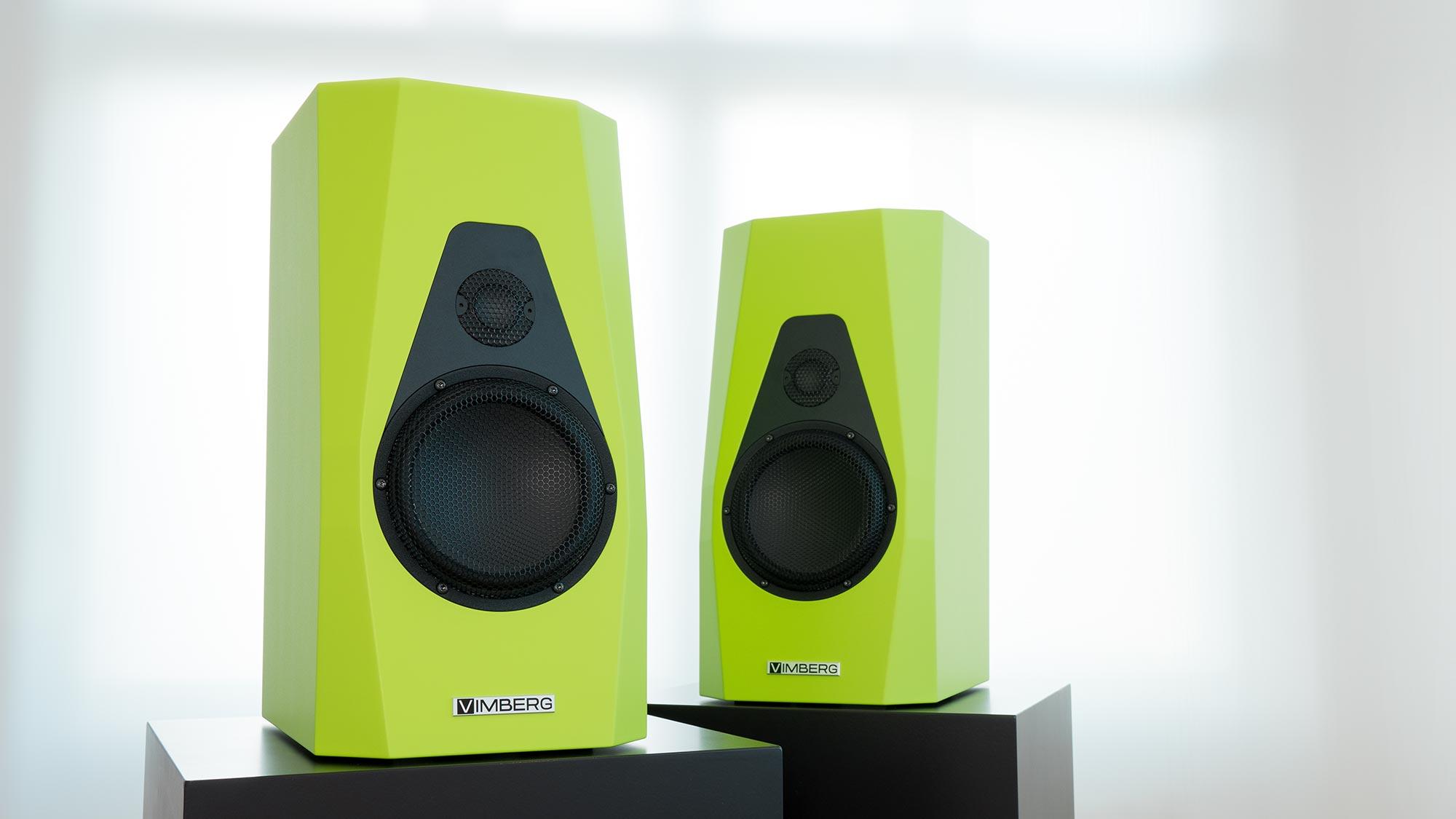 Vimberg Amea Velvetec Green @ Audio Therapy