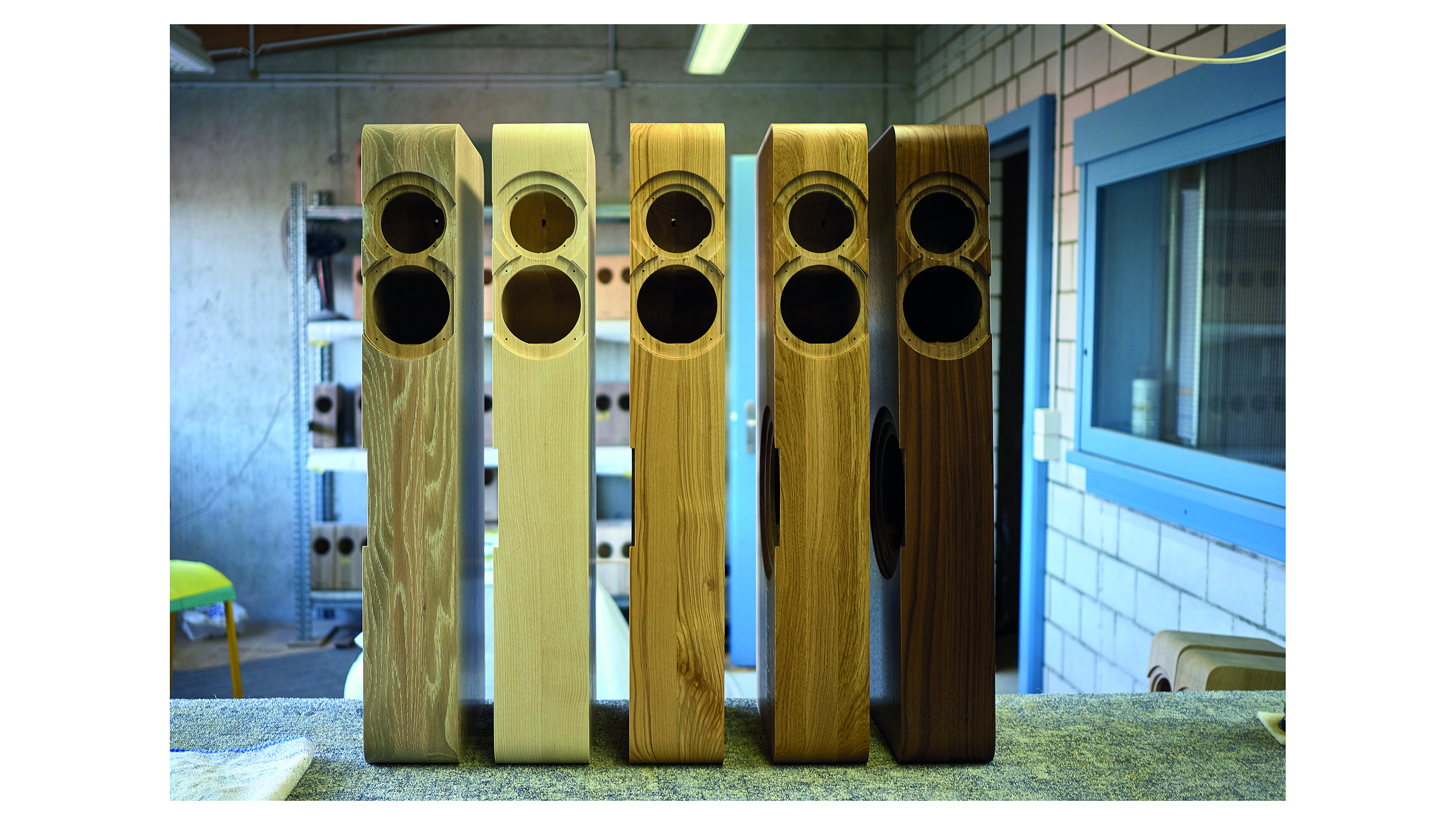 Boenicke Audio Wood Finishes @ Audio Therapy