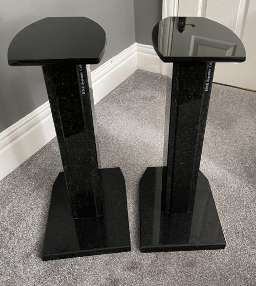 HNE Granite Speaker Stands @ Audio Therapys
