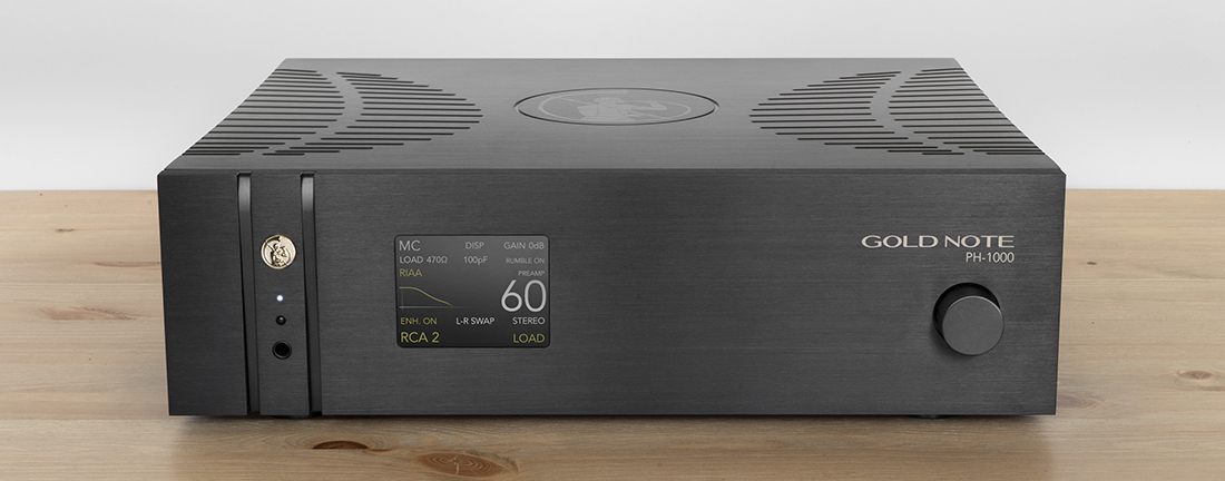 Gold Note PH-1000 Phono Stage Black @ Audio Therapy