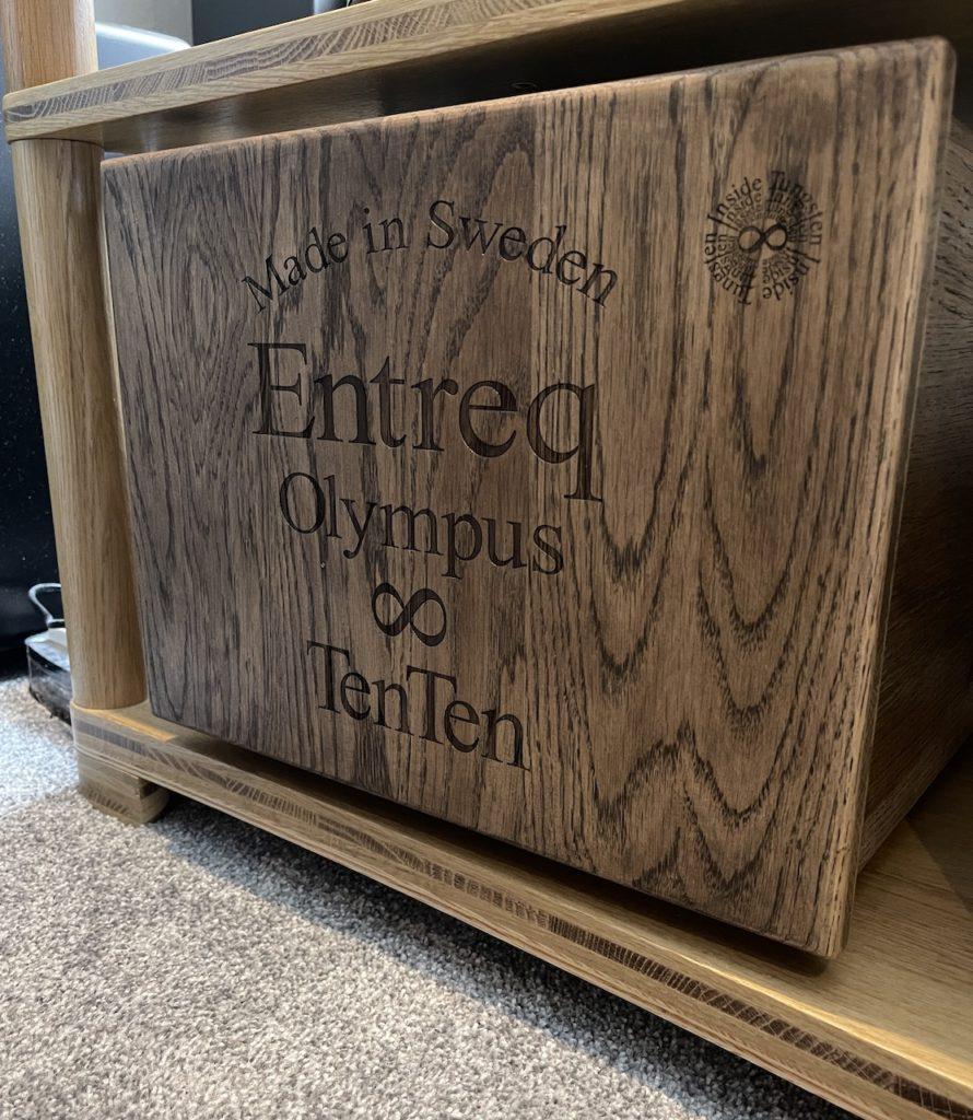 Entreq Olympus Ten Ten Ground Boxes @ Audio Therapy