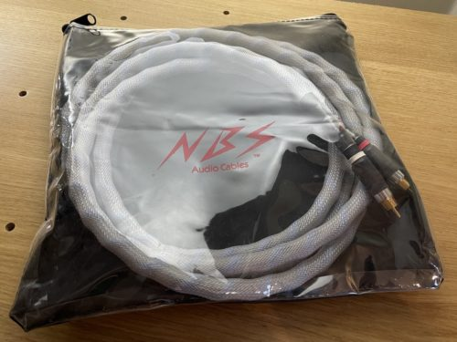 NBS Omega III RCA Interconnect Cable @ Audio Therapy